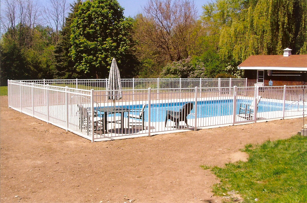 Ornamental aluminum fence backyard fence company Canterbury swimming pool opening hours