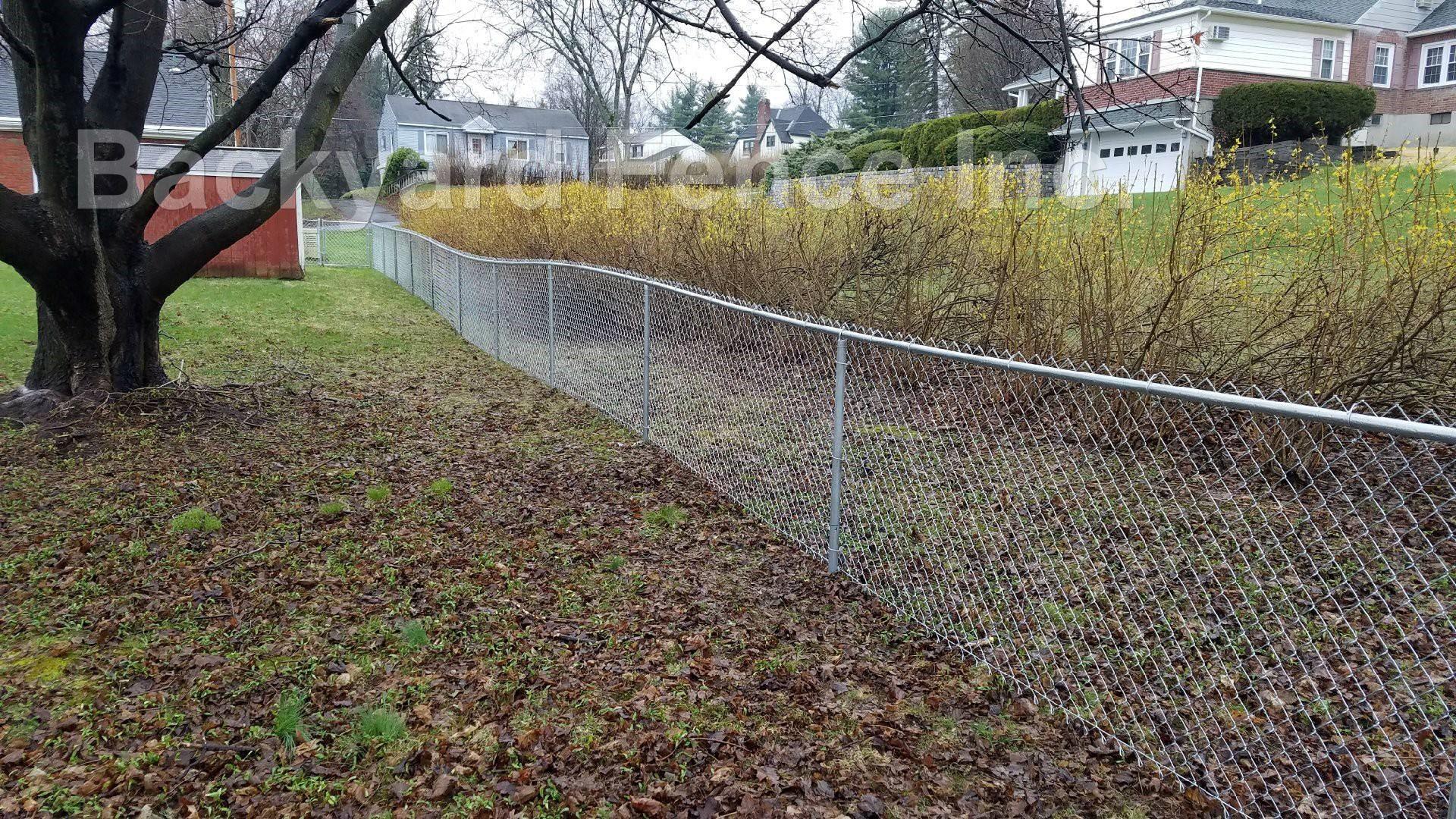Chain Link Fence Backyard Fence Company