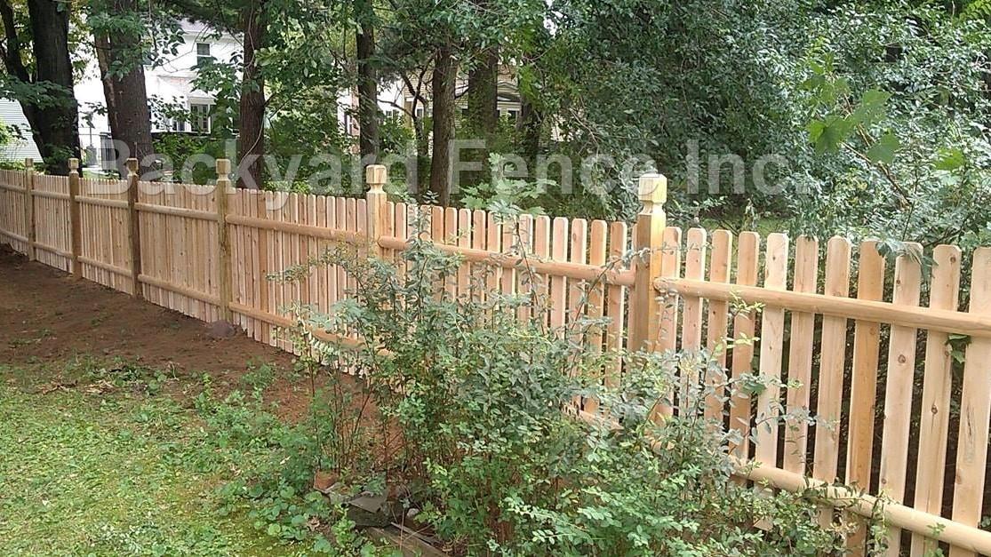 Wood Fence - Backyard Fence Company
