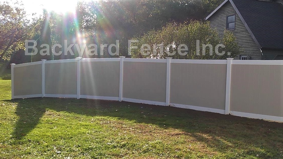 Pvc Fence Backyard Fence Company