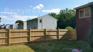 Wood Fence Backyard Fence Company